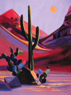 """Diana Madaras--Tucson artist  """"Morning has Broken"""""""