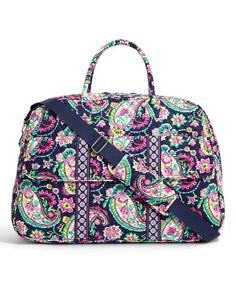 b2bde2c0221 Love this Petal Paisley Grand Traveler Weekender by Vera Bradley on  zulily!   zulilyfinds