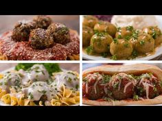 "Meatless ""Meat""balls 4 Ways - YouTube"