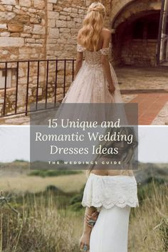 Unique and Romantic Wedding-Dresses Ideas #wedding