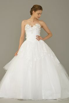 Ball Gown by Dang Bridal - The Wedding Dress - SingaporeBrides