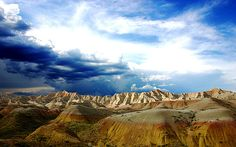 Badlands National Park ~ South Dakota