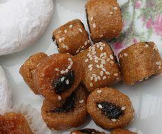 Makrout : comment faire des makrouts maison ? la recette des makrouts Oriental Food, Doughnut, Biscuits, Sweets, Cookies, Desserts, Lebanese Cuisine, Small Batch Baking, How To Make