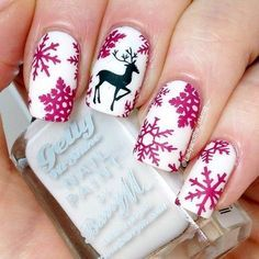 40 Inspirational Winter Nails Designs 2015