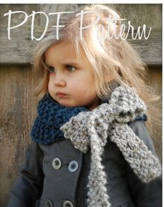 Knitting PATTERN-The Savannah Cowl (Child, Adult sizes). $5.50, via Etsy.