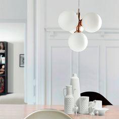 Lamps Luminaria Lámpara De Araña De Latón Pulido Con Vidrio Marina Lume Blanca 25cm High Resilience