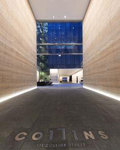 171 Collins Street lighting design by Electrolight