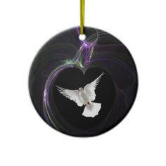 Frieden Weihnachtsbaum Ornamente