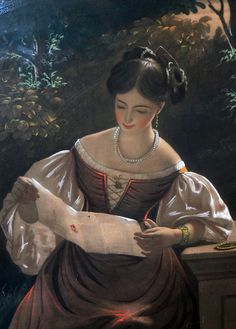"catonhottinroof: ""John Graham-Gilbert (1794-1866) The Love Letter """