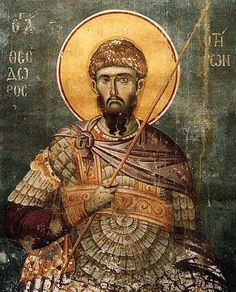Saint Theodore of Amasea /  Великомученик Феодор Тирон