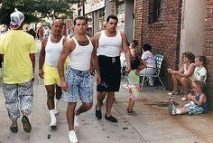 John Gotti jr, his boy in the beater(hairy chest jean shorts) yummi