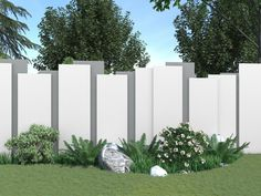 Fence Wall Design, Front Wall Design, Exterior Wall Design, Privacy Fence Designs, Modern Exterior House Designs, House Gate Design, Tor Design, Compound Wall Design, Free House Plans
