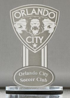 Mirror Purple Orlando City Soccer Club Collector's Edition Business Card Holder (Only available at the Orlando City Soccer Team Shop) Sunday Tv, Orlando City, Business Card Holders, Purple, Lamps, Display, Club, Mirror