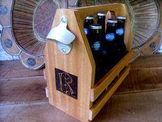 Groomsman Gift Beer Tote Custom Engraved and Personalized  Groomsmen, Groom, Dad, Birthdays, Christmas Gifts