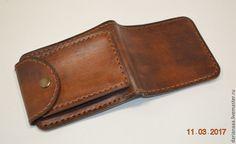 6eece33b844e Мужской кошелек №1 - купить или заказать в интернет-магазине на Ярмарке  Мастеров -