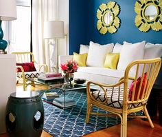 peacock blue, favorite coffee table