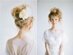 high bun bridal hairstyle / photography: http://ciara-richardson.com/ hair & makeup: http://hairandmakeupbysteph.com/