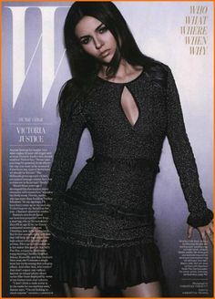 Victoria Justice In W Magazine December 2012