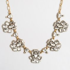 J.Crew Factory - Factory fanned clusters necklace $29.50