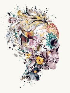 Momento Mori VII Art Print