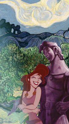 Disney meets Van Gogh - Hercules