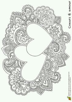 Mandala Heart Coloring Pages. 20 Mandala Heart Coloring Pages. Coloring Pages Color Coloringicture Easy Owlages Unique Heart Coloring Pages, Mandala Coloring Pages, Printable Coloring Pages, Colouring Pages, Adult Coloring Pages, Coloring Sheets, Coloring Books, Wedding Coloring Pages, Doodle Coloring