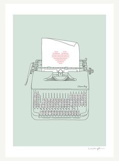 Love Story  Art Print by ilovedoodle on Etsy