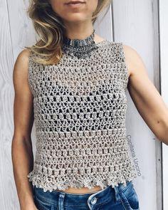 475 отметок «Нравится», 3 комментариев — Patterns By Capitanauncino (@capitanauncinocrochet) в Instagram: «Alfreda top/dress✨✨ Made this with Katia silk-viscose, my absolute yarn favorite at the moment!!…»