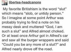 i'm british and i definitely haven't ever heard of that meaning but this is honestly hilarious