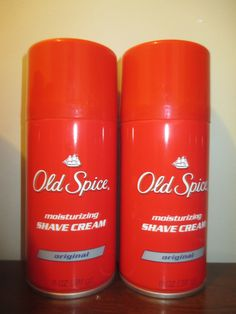 Shaving Creams Foams and Gels: (2) Old Spice Moisturizing Shave Cream Original 11 Oz BUY IT NOW ONLY: $109.0