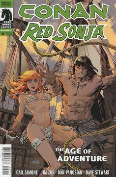Conan / Red Sonja # 2 Dark Horse Comics ( 2015 )