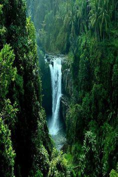 Tegenungan Waterfall, Gianyar, Bali 1.5 hours from Kuta. Photo by Made Gunadhi