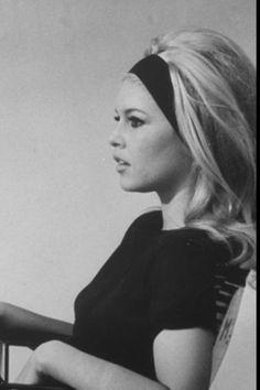 Brigette Bardot...Hair, makeup, Style. Perfection.