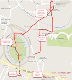 Padova sightseeing map | Maps | Pinterest | Italy and City