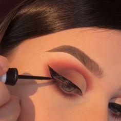 12 atemberaubende Augen Make-up Tutorials! Makeup Eye Looks, Simple Eye Makeup, Natural Eye Makeup, Eye Makeup Tips, Makeup Goals, Skin Makeup, Makeup Inspo, Makeup Inspiration, Makeup Hacks