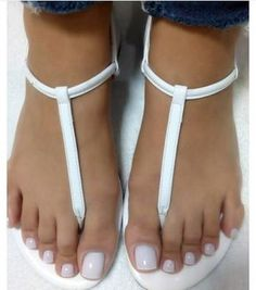 Only sexy feet: Photo Sexy Sandals, Cute Sandals, Bare Foot Sandals, Pretty Toe Nails, Pretty Toes, Beautiful Sandals, Beautiful Toes, Feet Soles, Women's Feet