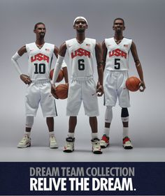 Dream Team (2012) by Coolrain Lee, via Behance