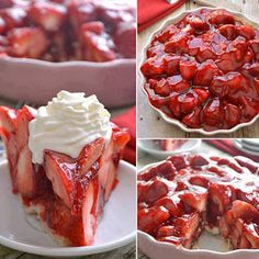 A Really Delicious Strawberry Pie To Make The BEST Homemade Strawberry Pie! ♥ ♥ ♥Recipe: www.lemontreedwel… Posted by Lemon Tree Dwelling on Thursday, 21 January 2016 Photo Source A really delicious strawberry pie to make that looks so yummy I am … Best Strawberry Pie Recipe, Fresh Strawberry Pie, Strawberry Desserts, Raspberry, Pie Recipes, Dessert Recipes, Cooking Recipes, Family Recipes, Recipies
