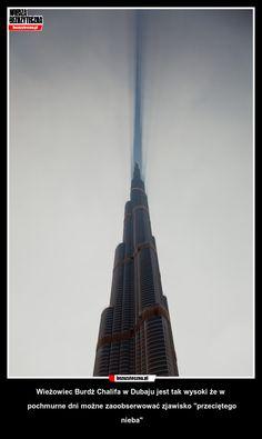 Burdż Chalifa najwyższy wieżowiec swiata