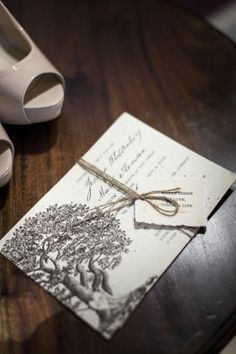 Plantable wedding invitation that grows herbs and wild flowers!