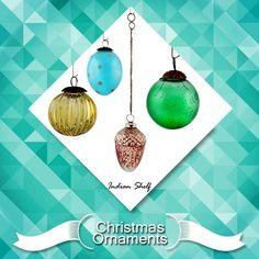 Beautiful colourful christmas ornaments #decorative #ornaments