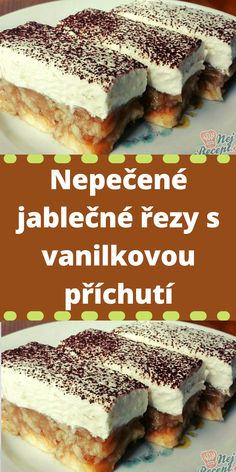 Tiramisu, Cheesecake, Food And Drink, Sweets, Apple, Ethnic Recipes, Desserts, Cakes, Dieting Tips