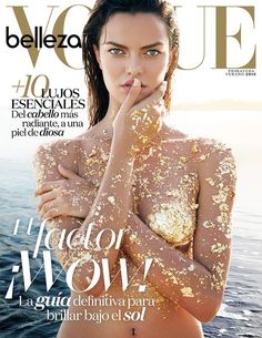Barbara Fialho for Vogue Mexico April 2016 Beauty Supplement cover