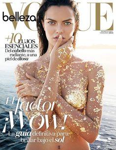 Barbara Fialho for Vogue Mexico April 2016 Beauty Supplement cover ❥Pinterest: yarenak67