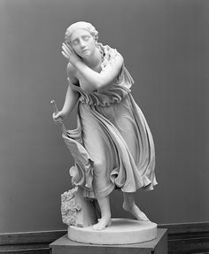 A sculpture of Nydia, the Blind Flower Girl of Pompeii, was obtained by WSC on his tour of Europe.
