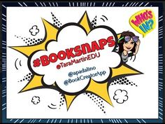 Have you heard of BookSnaps yet? This incredibly simple and original idea is transforming the way teachers and students interact with books. Library Activities, Reading Resources, Elementary School Library, Elementary Schools, Book Creator, The Creator, Book Club Books, The Book, Educational Technology