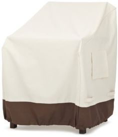 Strathwood Dining-Arm-Chair Furniture Cover, Set of 2 Outdoor furniture cover for a dining arm chair.Keep deck and patio furniture Cheap Patio Furniture, Outdoor Furniture Chairs, Patio Lounge Chairs, Adirondack Furniture, Patio Furniture Covers, Dining Arm Chair, Amazon, Armchair Covers, Garden