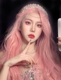 Ulzzang Hair, Ulzzang Korean Girl, Aesthetic People, Aesthetic Hair, Long Straight Black Hair, Korean Hair Color, Uzzlang Girl, Asian Makeup, Beautiful Anime Girl