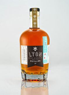 FUNNEL: Lyon Distilling Co. Rum Identity and Packaging