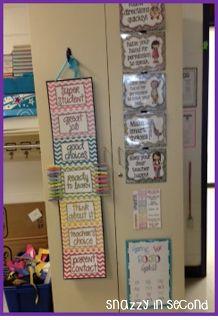 Snazzy In Second: Classroom Digs... My classroom tour! - Teacher Week!